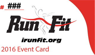 RunFit Event Card 2016